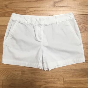 NWT LOFT white shorts